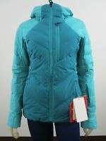 Womens The North Face TNF Corefire Gore Wind Down Insulated Hooded Jacket Blue