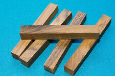 Five Ovangkol wood blanks for pen turning and small woodworking projects