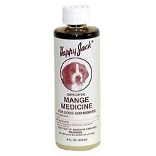 Dog Mange Medicine Topical Treatment Effective Itching Bald Spots Fast Healing