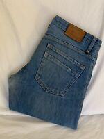 REISS 1971 Shackleton Slim Straight Leg Denim Jeans Mens W30 L34 (R1476)
