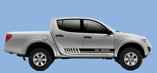 4X4 pair of side stripes Graphics stickers decals RANGER HILUX L200 NAVARA etc