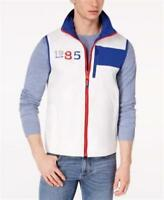 Tommy Hilfiger Ashby Logo Print Vest White Mens XL New