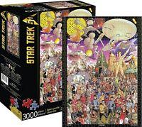 Star Trek 50th Jubiläum Riesig 3000 Teile Puzzle 1150mm x 820mm (NM)