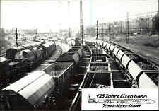 Karl-Marx-Stadt Chemnitz DDR Sonderkarte 125 Jahre Eisenbahn Rangier-Bahnhof
