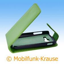 Flip Case Etui Handytasche Tasche Hülle f. Samsung Galaxy Pocket 2 (Grün)