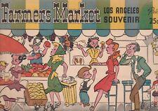 FARMERS MARKET LOS ANGELES 1940'S BROCHURE