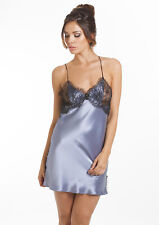 Sulis Silk Montmarte pure silk lace slip chemise 10 made in England
