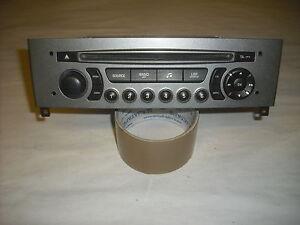 autoradio origine cd peugeot 308 rd4 mp3  (ref 3718)