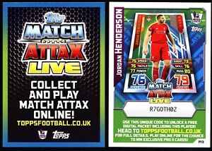 Match Attax 2015/16 EXTRA – Match Attax Live *Please Choose Cards*