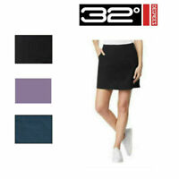 "NWT! 32 Degrees Cool Ladies' Skort Skirt W/ Shorts "" Variety"" | G3"