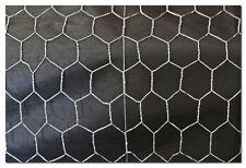 Hex Wire Galvanised Mesh Netting Garden Chicken Animal 900mm x 40 x 1.4  x 50M