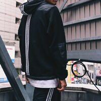 ADIDAS X ATMOS Hybrid Windbreaker Jacket CLIMASTORM Japan EXCLUSIVE White Black