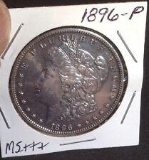 1896-P Morgan Silver Dollar .. MS+++