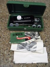 New listing Vintage Singer Sewing Machine Accessories Buttonholer Parts Attachments