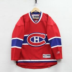 Montreal Canadiens Reebok Jersey Size Small Red NHL Stitched