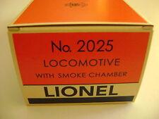 Lionel 2025 Locomotive  Licensed Reproduction Box w/corrugated insert