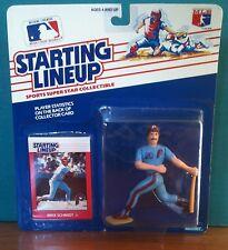1988 Mike Schmidt Philadelphia Phillies 1st SLU in pkg with baseball card