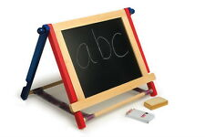 Childrens Blackboard/Whiteboard Art Easel Set With Artists Accessories