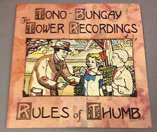 "Tono-Bungay/Tower Recordings Rules of Thumb split 10"" new weird america"