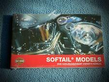 2005 Harley Davidson softail owners manual heritage fatboy night train springer