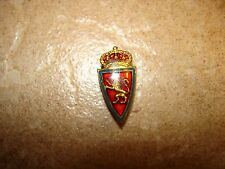 Vintage button hole F.C. Zaragoza Spain Fotbal, Soccer Pin Badge