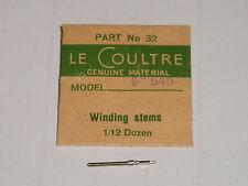 Lecoultre winding stem 840 / tige de remontoir / Aufzugswelle