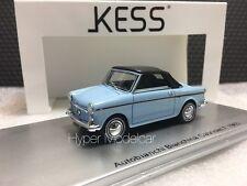KESS MODEL 1/43 Autobianchi Bianchina Cabriolet F Closed 1965 Art. KE43022011