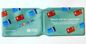 LONDON UNDERGROUND OYSTER CARD TRAVEL CARD TRAIN TICKET BUS PASS HOLDER COVER