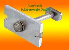 20 Stück Modul - Mittelklemmen 35mm einfach für Solar Module / Alu Profil