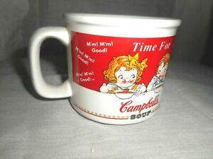 Campbell's Soup Mug Time for Soup HOUSTON HARVEST (HH) 1998 Ceramic Mug