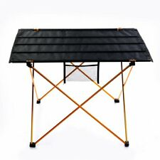 Ju&Ju Outdoor Ultralight Portable Folding Desk Aluminum Alloy Table - Medium