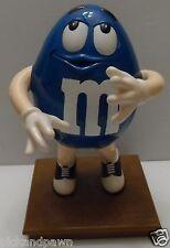 Vintage M & M Mars Big Blue Blues Cafe Candy Dispenser Working