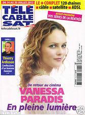 ▬► Télé Cable Sat 1158 de 2012  VANESSA PARADIS