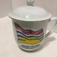 British Columbia Souvenir Tea Cup or Coffee Mug Tasse Café Canada