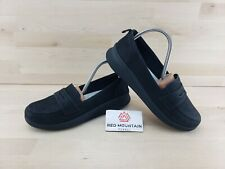 Clark Cloudsteppers Black Sillian 2.0 Hope Slip On Loafers Women's Size 9 W