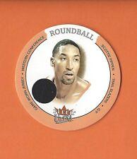 2003-04 ULTRA ROUNDBALL DISC SCOTTIE PIPPEN GAME-WORN JERSEY #D-SP TRAIL BLAZERS