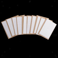 10Pcs All Occasion Blank Greeting Cards White Embossed Cards with Envelopes