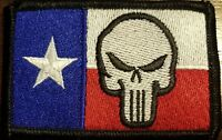TEXAS State Flag Patch W/ VELCRO® Brand Fastener Tactical USA The Revenger #17