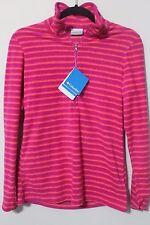 NWT Columbia Glacial Gust Half Zip Fleece Sweater Size S/P Reg 50.00