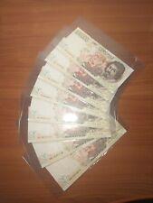 Lotto banconote italiane lire 100000 Caravaggio SPL/SUP