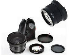52mm 0.35x HD Wide Angle Macro Fisheye Lens for Canon EOS 5D II 7D 700D 1000D