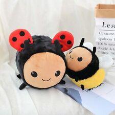 decorative pillows Simulation Bee Stuffed Toys Peluche pillow Plush bee ladybug