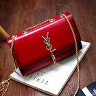 2017 New Fashion Female Leather Handbags Chain Solid Shoulder Bag Lady Messenger