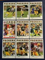 2004 Topps Collection GREEN BAY PACKERS Complete Team Set BRETT FAVRE X 2 RARE