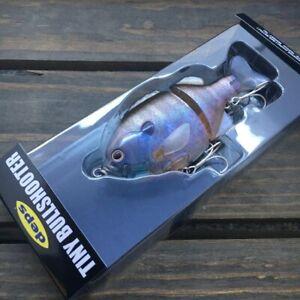 Deps Tiny Bullshooter 100mm Slow Sinking Jointed Swimbait 12 Natural Ghost Gill