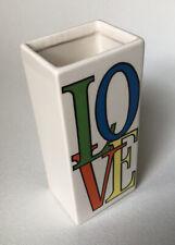 "Rare, Vintage, 1960's Ceramic Iconic ""Love� Vase - Match Stick Holder"