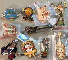 10 Hard Rock Cafe PHILADELPHIA PIN LOT Holiday PINS Xmas HW VD 4th TG HNY Earth!