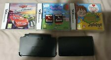 Nintendo 3DS Console + 5 games Bundle Job Lot  Cars Peppa Pig Horrid Henry