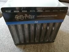 HARRY POTTER 8 Films Collection Blu-Ray Steelbooks Box France Import OOP RARE