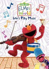 Sesame Street: Elmo's World - Let's Play Music (2010, DVD NIEUW)